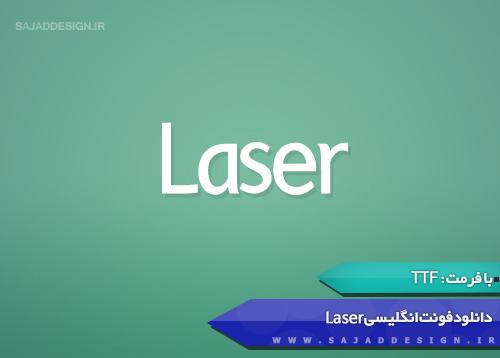 Laser English Font