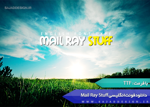 Ray Mail Stuff English Font